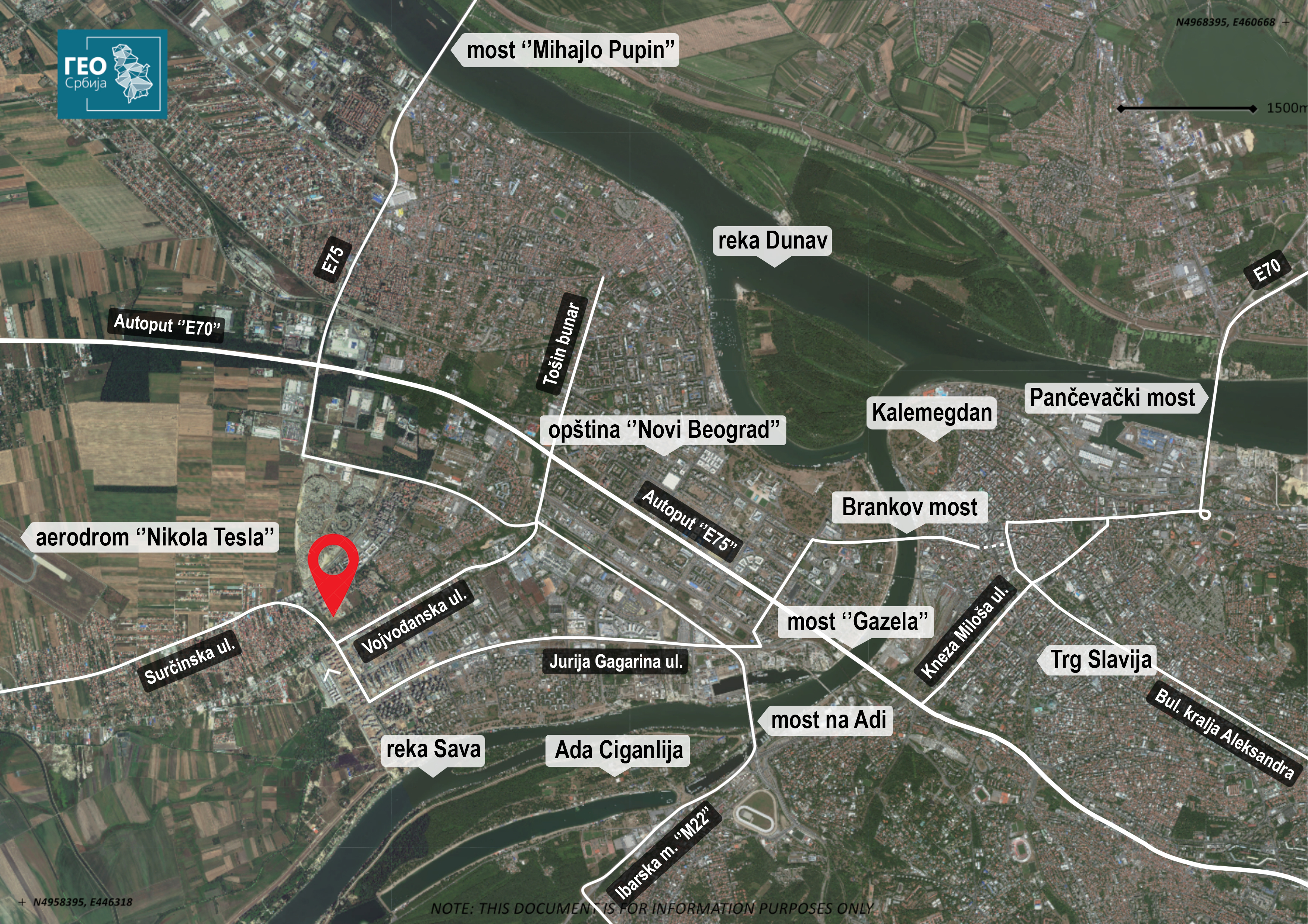 Stambeni Kompleks Blok 24 Bezanijska Kosa Novi Beograd Srbija